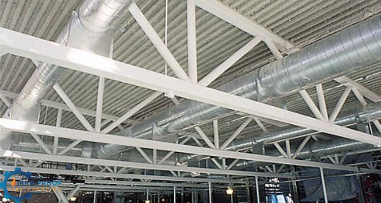 شرکت پوشش ضد حریق اسکلت فلزی