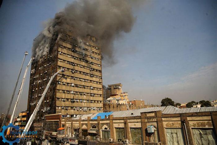 ایمنی ساختمان در برابر آتش سوزی