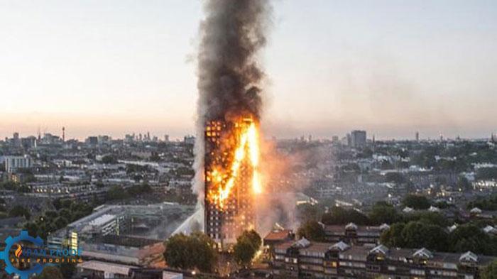 محافظت ساختمان ها در برابر حریق