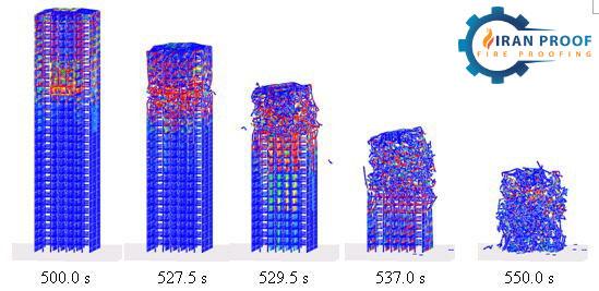اجرای فایرپروف ساختمان و ستون