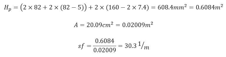 فرمول محاسبه ضخامت فایرپروف